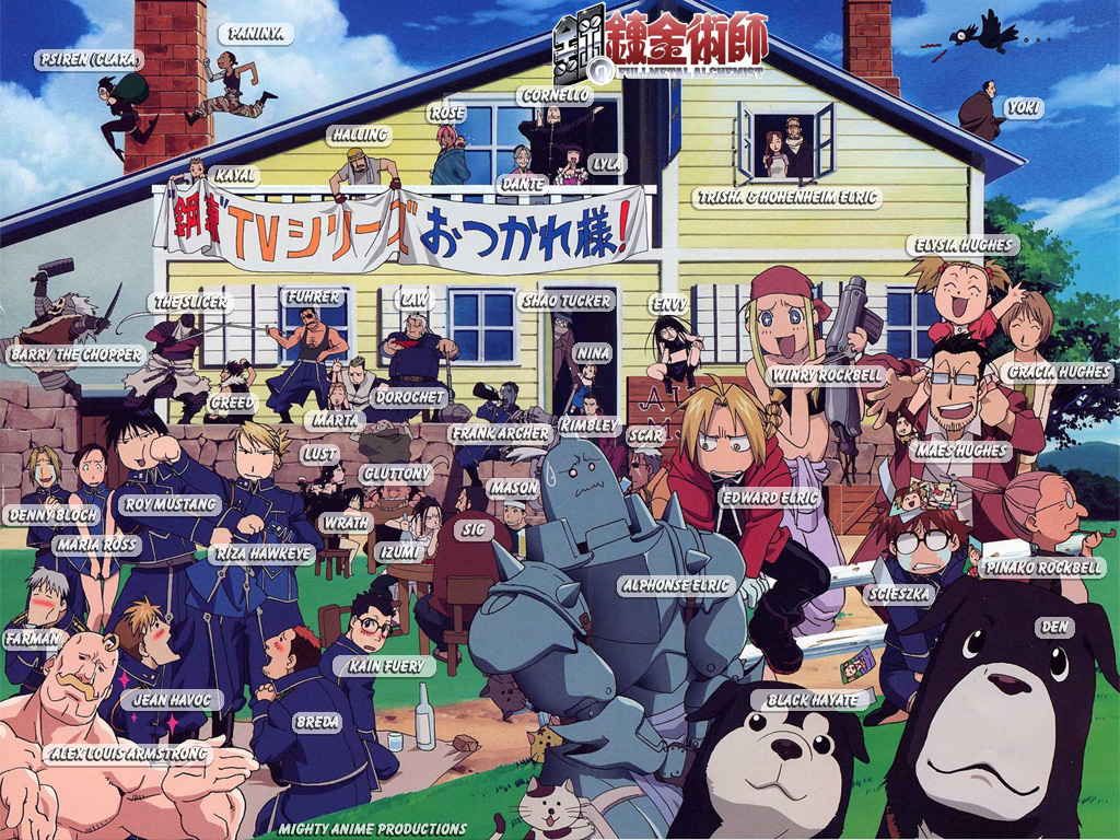 Every character in FullMetal Alchemist - Anime Photo ...