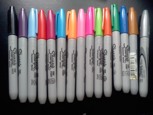 My Sharpies! :D
