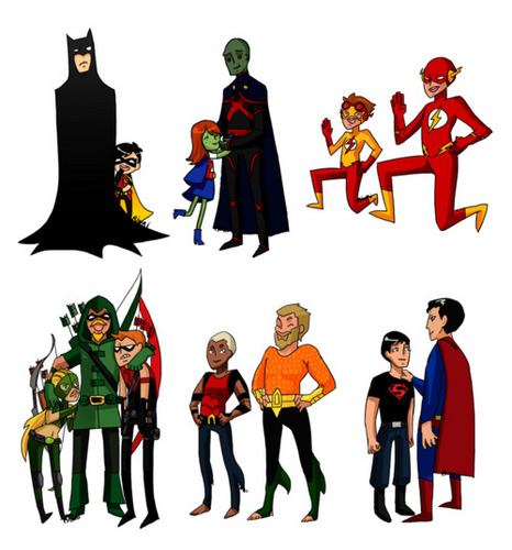 Young Justice with Mentors