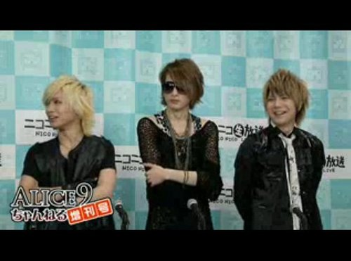 alice nine @ nico nico live and live concerts