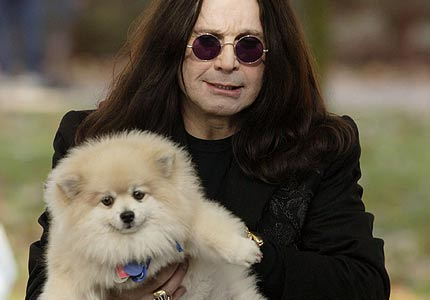 ozzy and his puppy