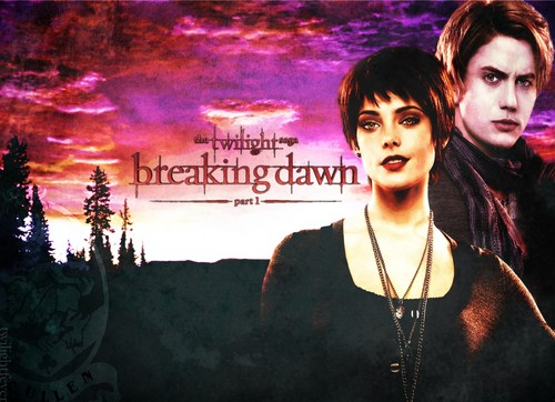 Breaking Dawn_ Alice& Jasper 바탕화면
