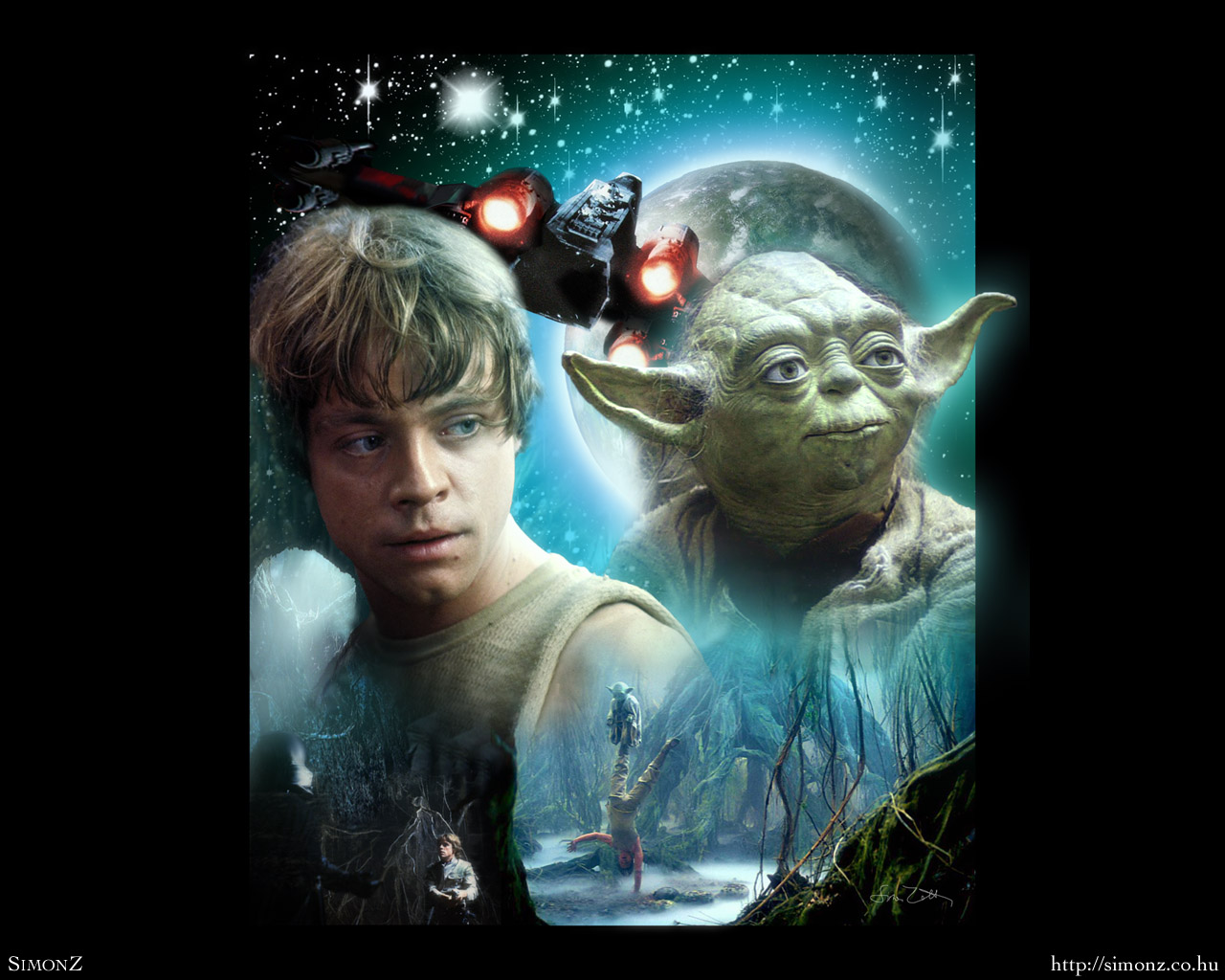 Dagobah Luke Skywalker Wallpaper 25608604 Fanpop Page 3