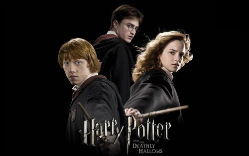 Harry, Ron and Hermione 壁纸