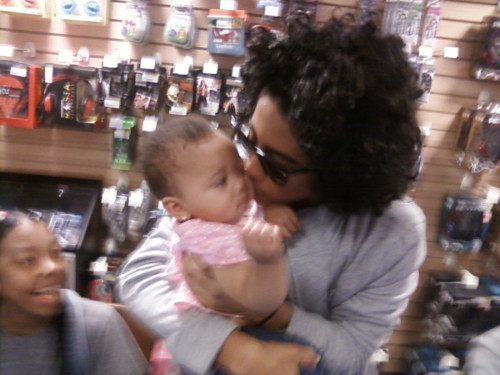 Princeton With Cute Baby!!! <3