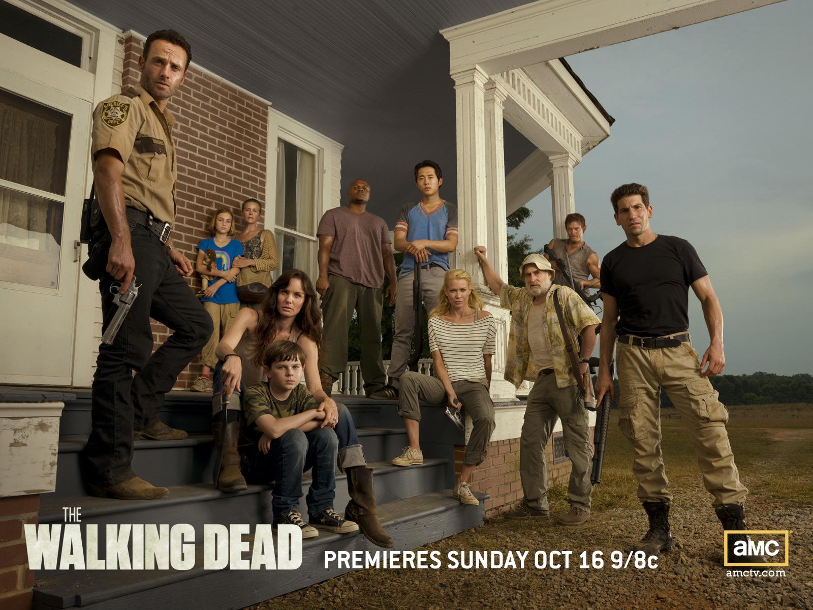 Season 2 Wallpaper The Walking Dead Wallpaper 25688940 Fanpop