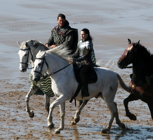 Snow White and the Huntsman: On the Set - Marloes Sands, Wales. [September 27, 2011]