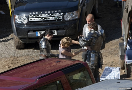 Snow White and the Huntsman: On the Set - Marloes Sands, Wales. [September 28, 2011]