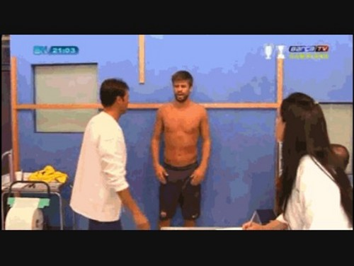 naked pique and man