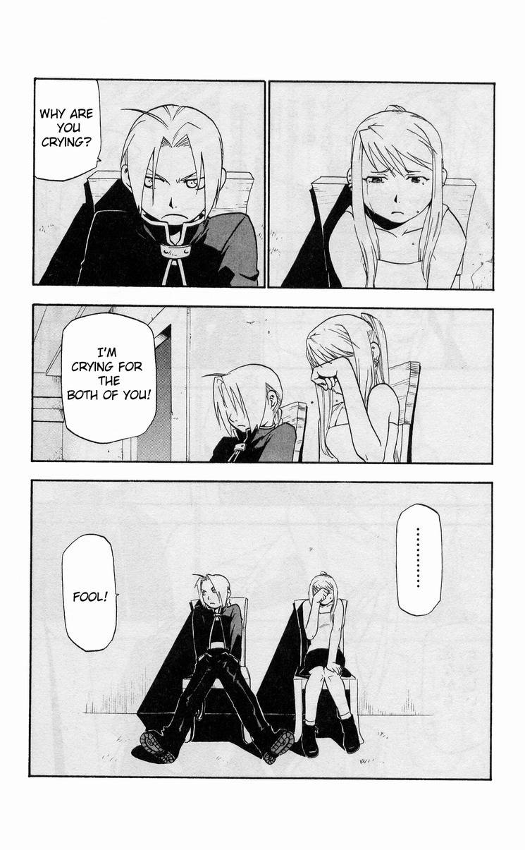 Don't Forget October 3rd (manga scene) - Full Metal ...