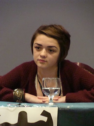 Maisie Williams at TitanCon
