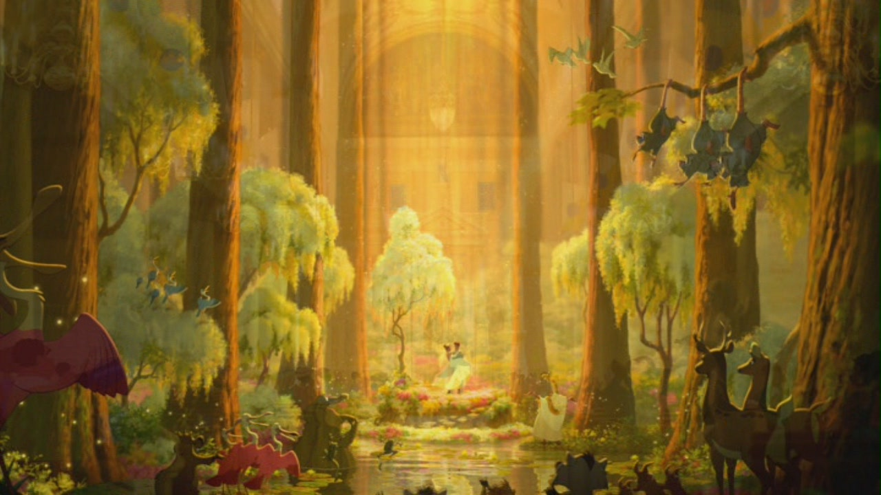 The Princess And The Frog Art Hd Wallpaper Best Hd Wallpapers