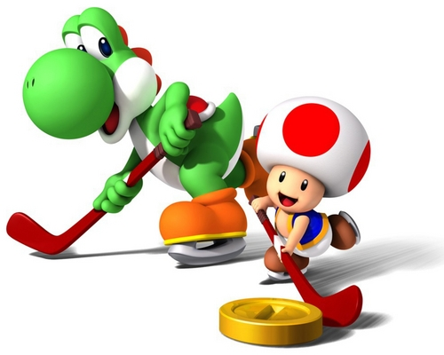 Yoshi and Toad