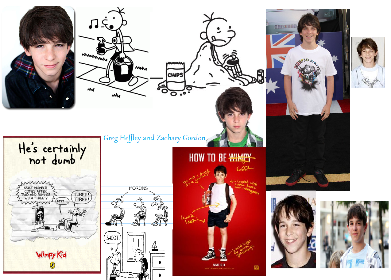 Wimpy Kid Colage Diary Of A Wimpy Kid Fan Art 25728961