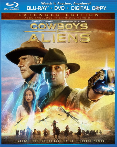 'Cowboys & Aliens' Blu-Ray Cover