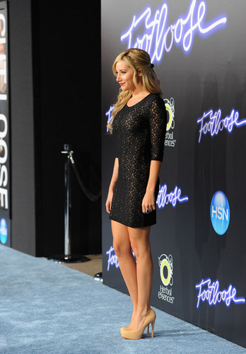 "Ashley Tisdale at the Los Angeles Premiere of ""Footloose"""