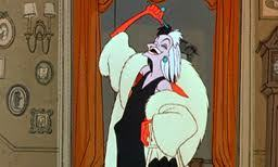 Disney Villains-Cruella De Vil