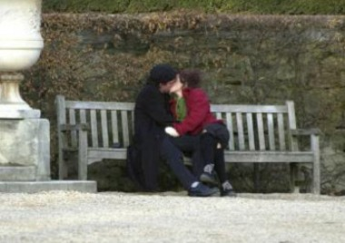 Helena and Tim Kissing!!!!!