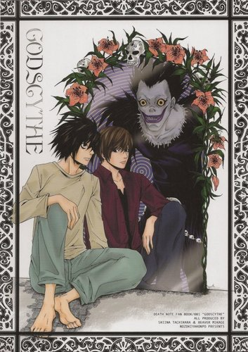 L, Light, and Ryuk