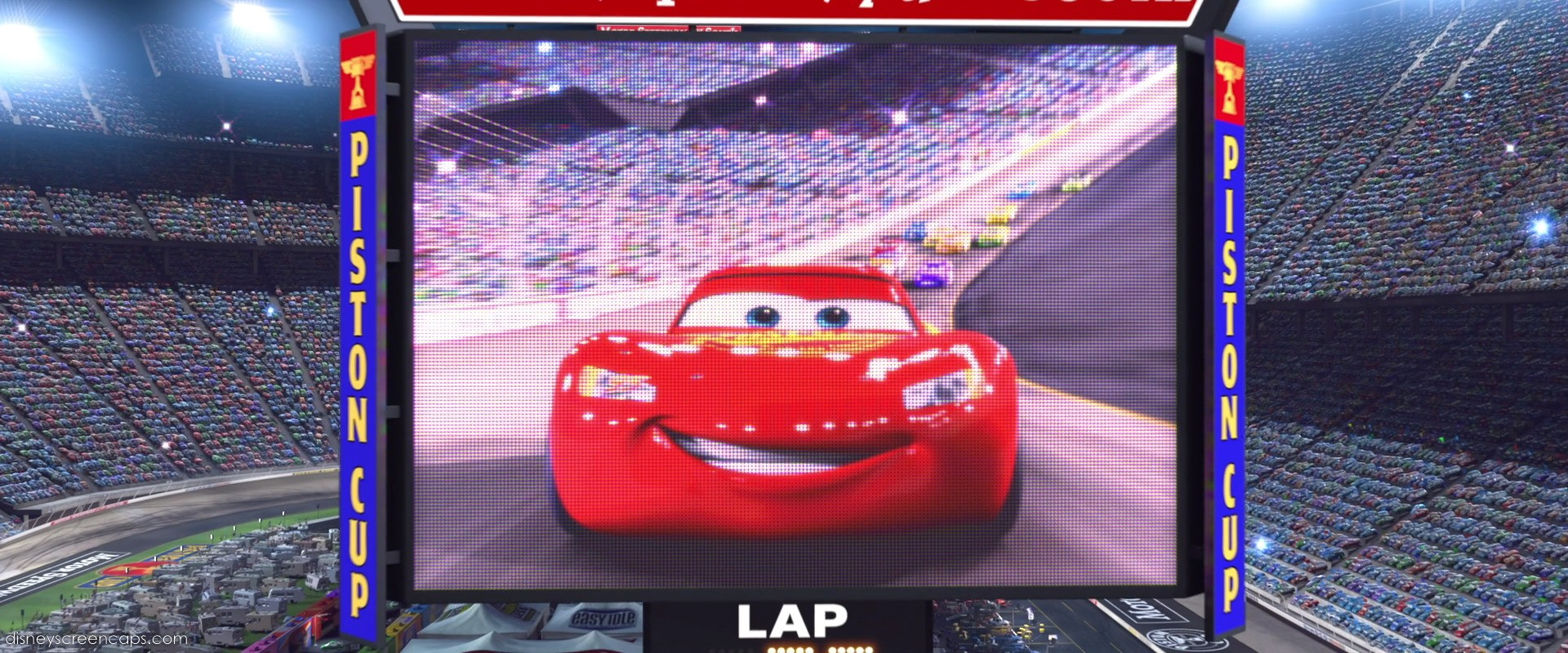 Lightning McQueen - Piston Cup