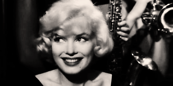 Marilyn Monroe in -Some like it hot-