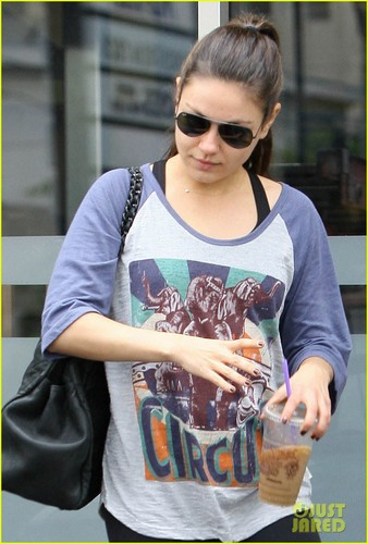 Mila out in West Hollywood