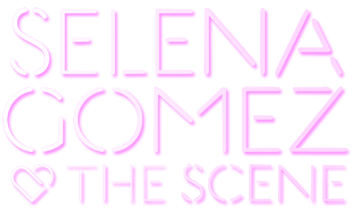 Selena Gomez & The Scene - Ciuman & Tell-style Logo