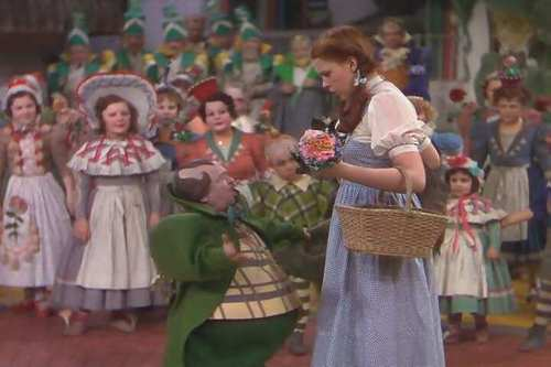 Dorothy And The Munchkins