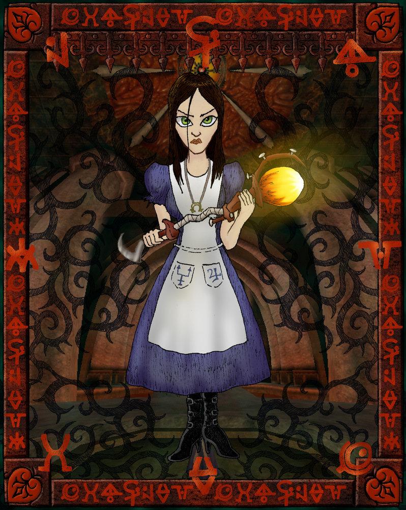 Alice Madness Returns Walkthrough Chapter 2 alice - american mcgee's alice fan art (25908714) - fanpop