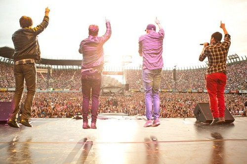 Big Time Rush concert in Mexico City
