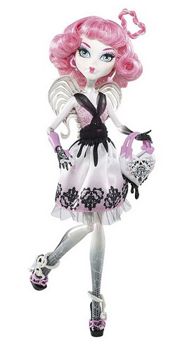 Bigger picture of the new Cupid Monster High doll!
