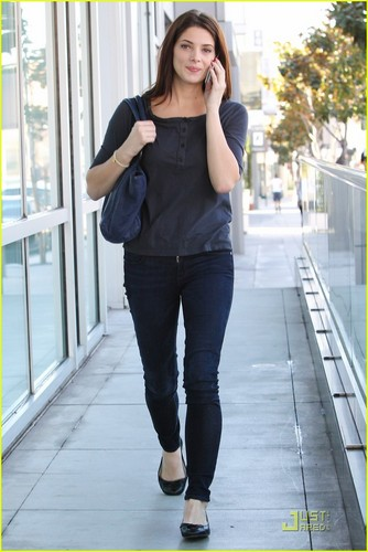 New candids; Ashley out and about in LA [Oct 10th]
