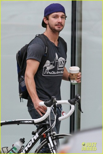 Shia LaBeouf: Bike Ride in Vancouver