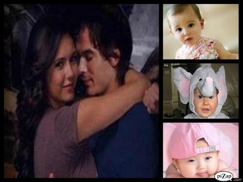 Damon elena and their babies
