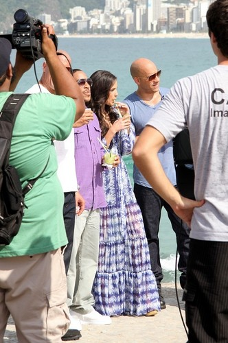 Fast Five Cast in Arpoador, RJ (Interview with MSNBC Today Show), Apr 13, 2011