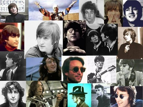 Another John Lennon collage
