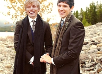 Arthur/Merlin marriage