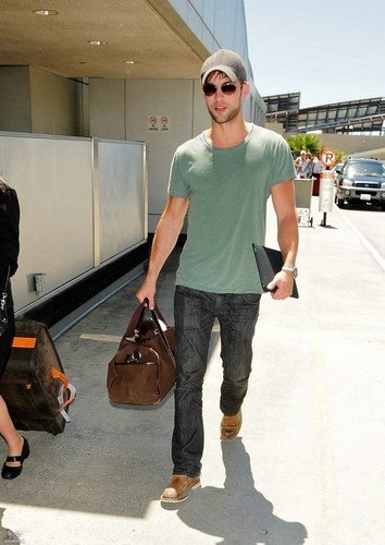 Chace - Departing from LAX Airport - July 01, 2011