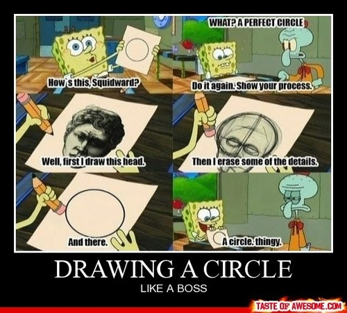 Draw a circle....like a boss!
