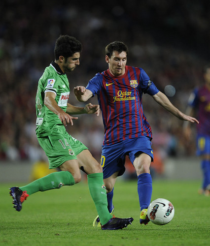 L. Messi (Barcelona - Real Racing)