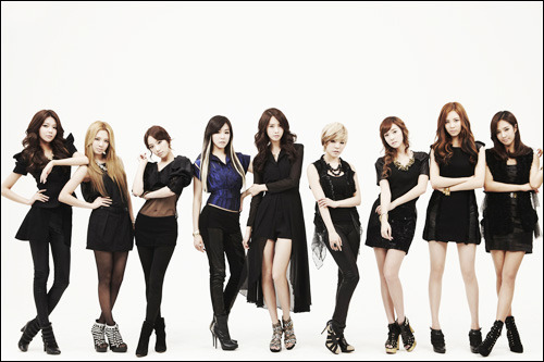 "Girls' Generation ""The Boys"" MV Promotional pics"