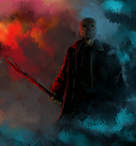 Jason Voorhees in the Mist