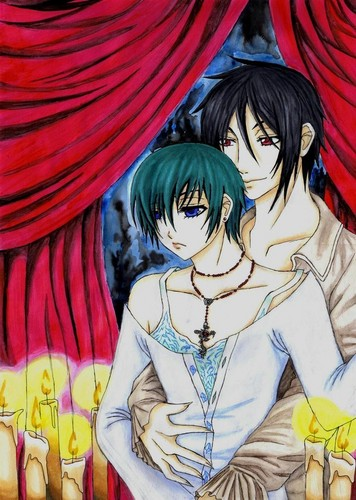 Sebby and Ciel