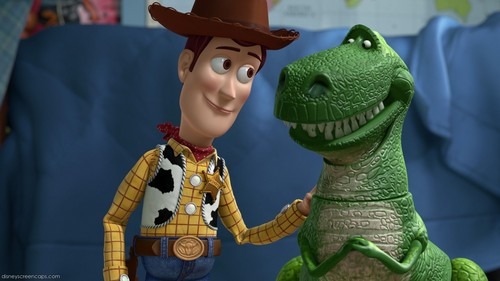 Woody and Rex