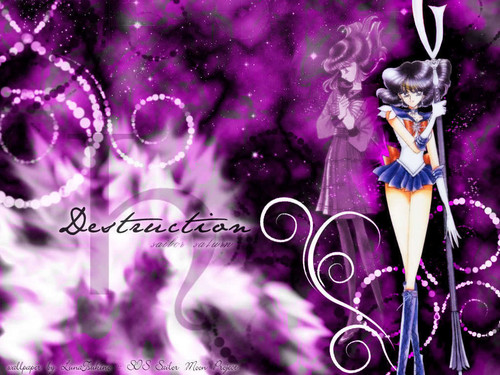 sailor  saturn-soldier of  distruction