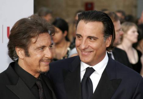 Al Pacino and Andy Garcia