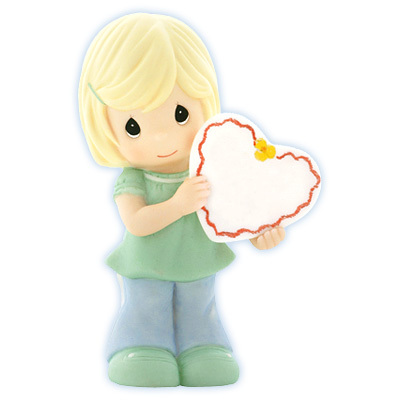 Art From The Heart - Girl Holding Blank Sign