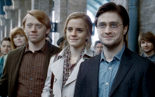 Harry, Ron and Hermione Hintergrund