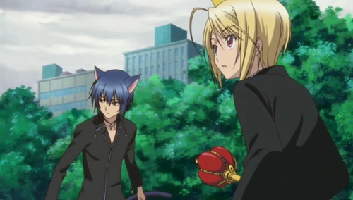 Ikuto and Tadase fighting!!