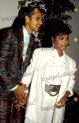 JANET JACKSON WITH JAMES DABARGE 1984
